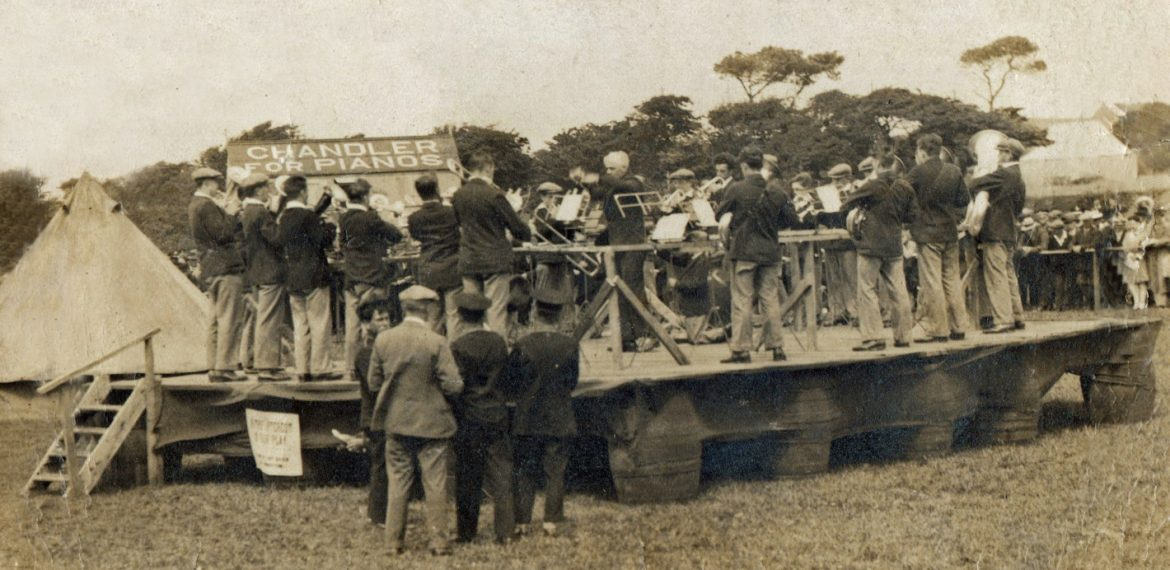 Cornish Brass Band Contests – Redruth Mining Division Bandsmen's Festival 1920s and 1930s