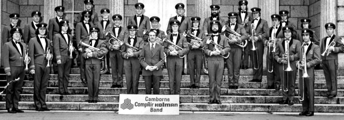 Camborne Town Band and Holman Brothers Ltd