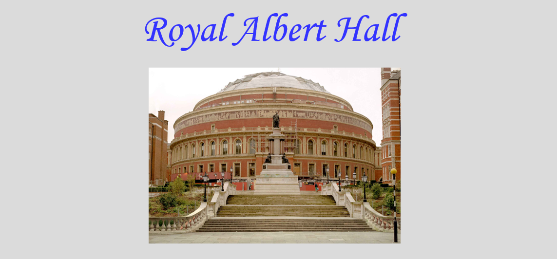 Festival of Cornish Male Voice Choirs – Royal Albert Hall 1988