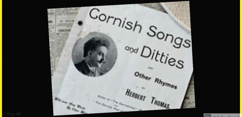 CORNISH SONGS AND DIITTIES: AUSTRALIAN REVIEW (1904)